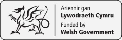Ariennir gan Lywodraeth Cymru / Funded by Welsh Government